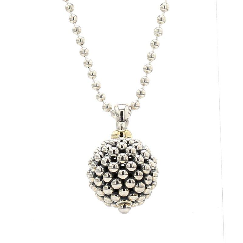 Lagos Silver Ball Pendant