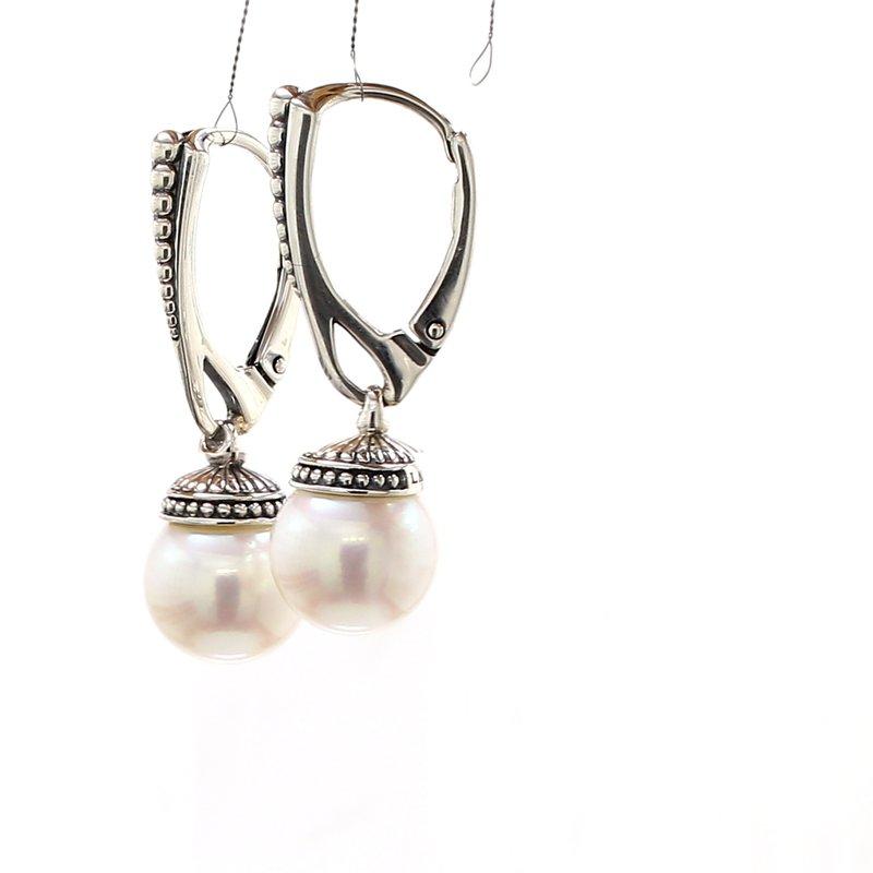 Lagos Freshwater Pearl Drop Earrings