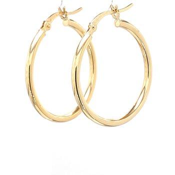 1in Hoop Earrings