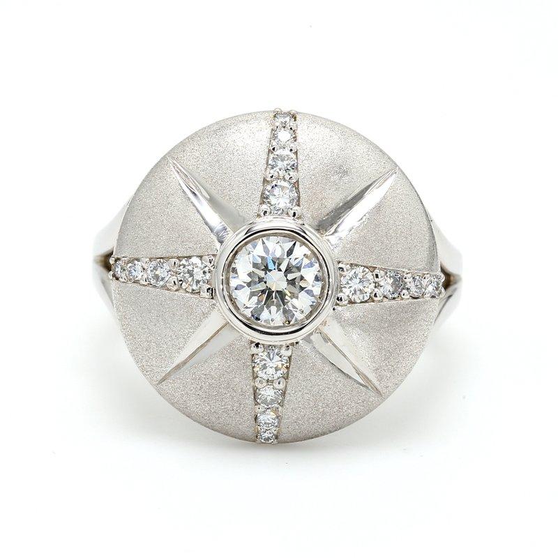 Spicer Greene Compass Diamond Ring