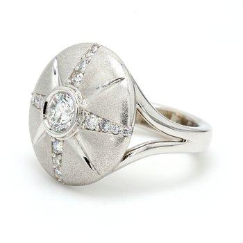 Compass Diamond Ring