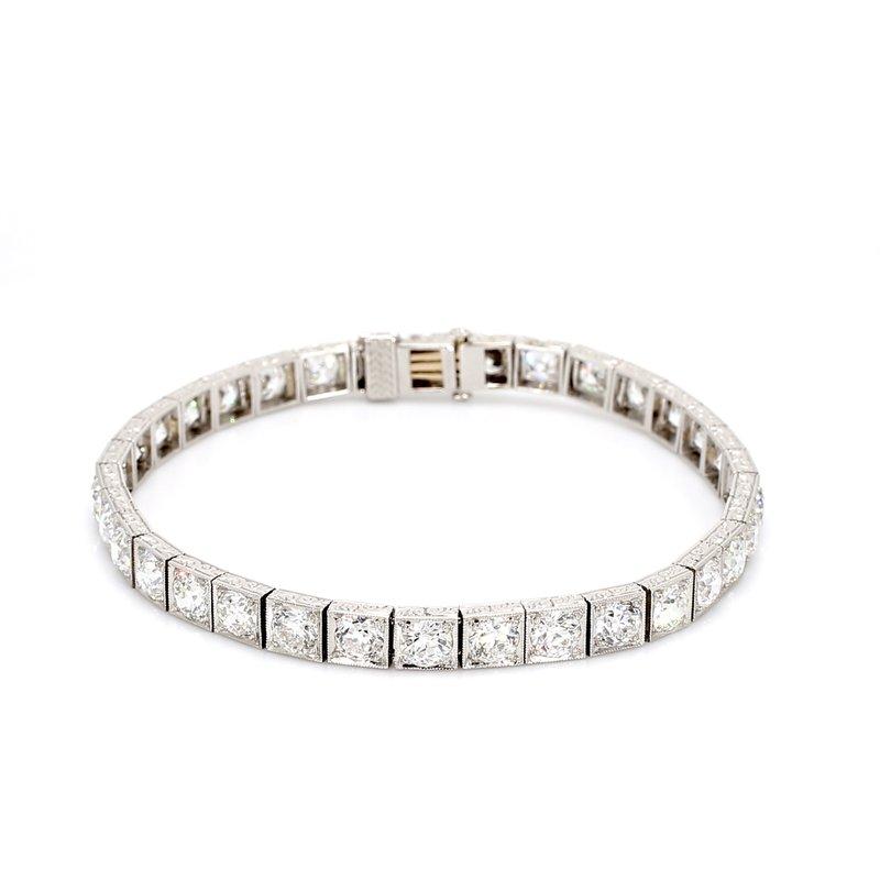 Estate Diamond Tennis Bracelet