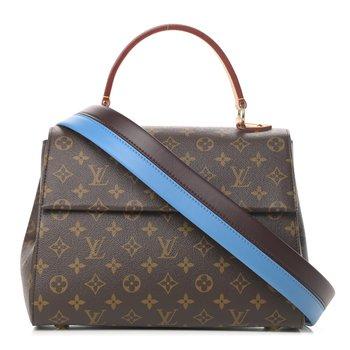 Louis Vuitton Monogram Cluny MM Blue Glacial
