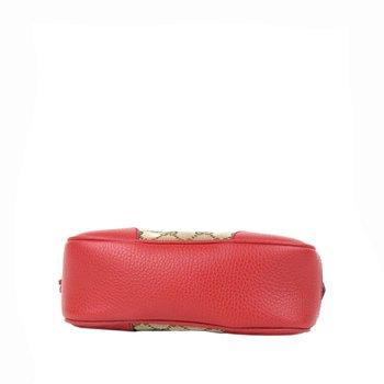 Gucci Monogram Bree Messenger Bag