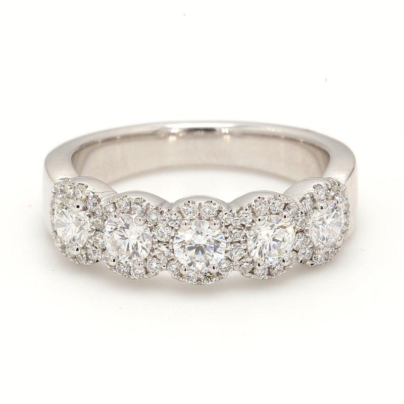 Spicer Greene Halo Diamond Wedding Band