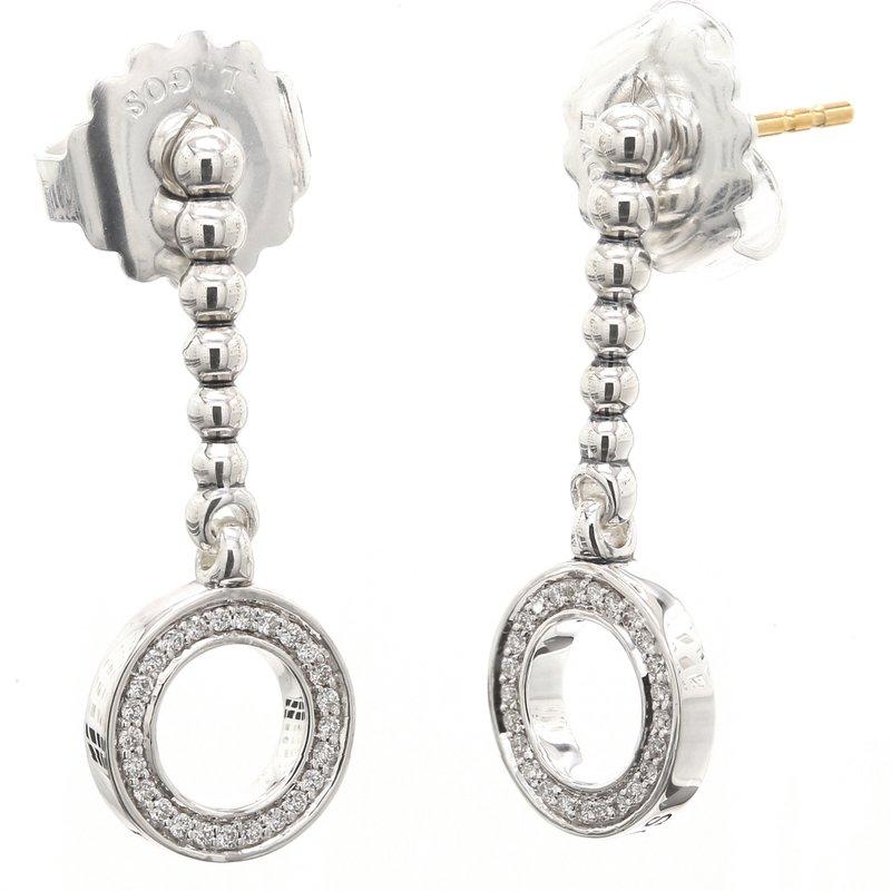Lagos Diamond Drop Earrings