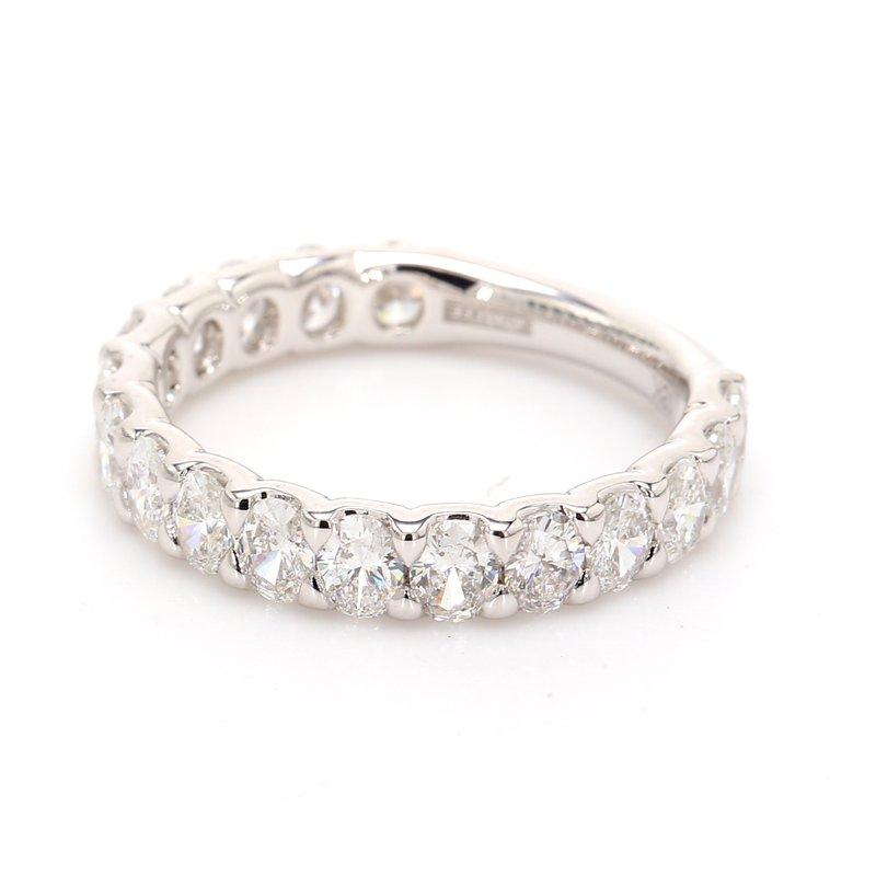 A.Jaffe Single Row Diamond Wedding Band