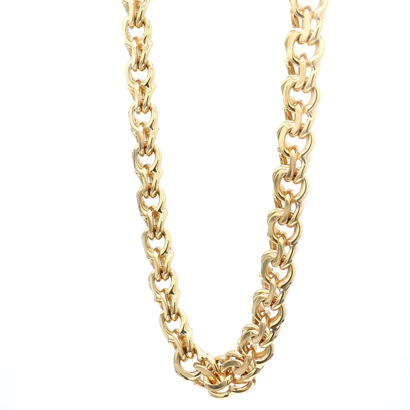 Estate Gold Curb Chain