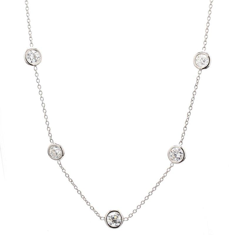 Spicer Greene Diamond Station Necklace
