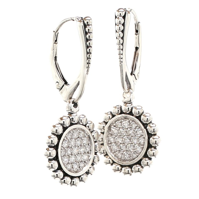 Lagos Diamond Dangle Earrings