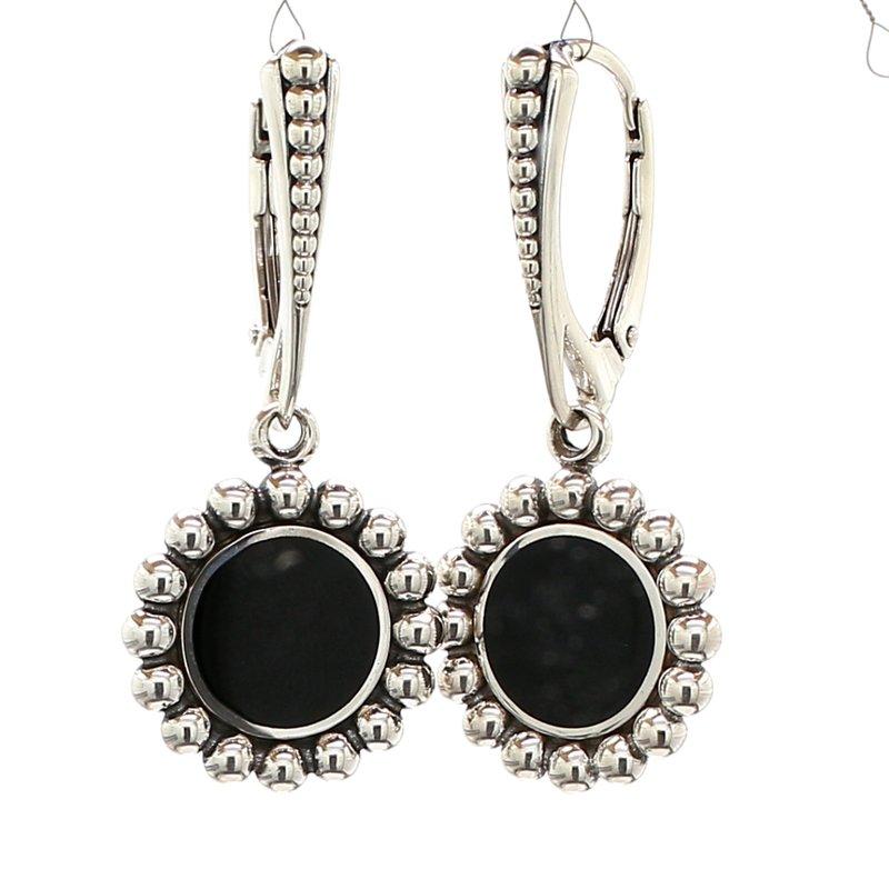 Lagos Black Onyx Drop Earrings