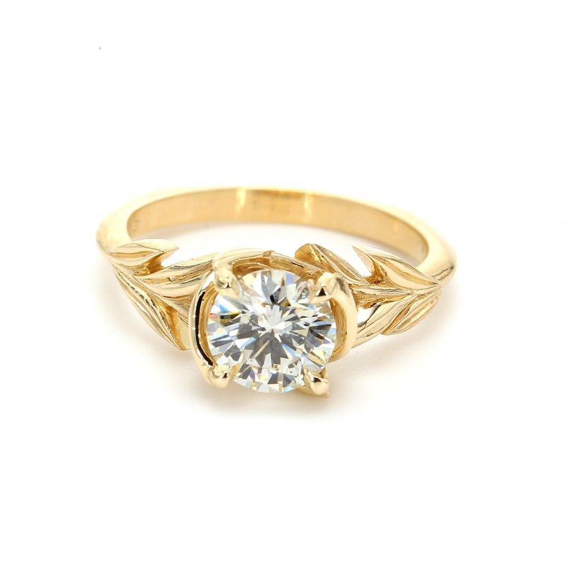 Spicer Greene Diamond Solitaire Ring