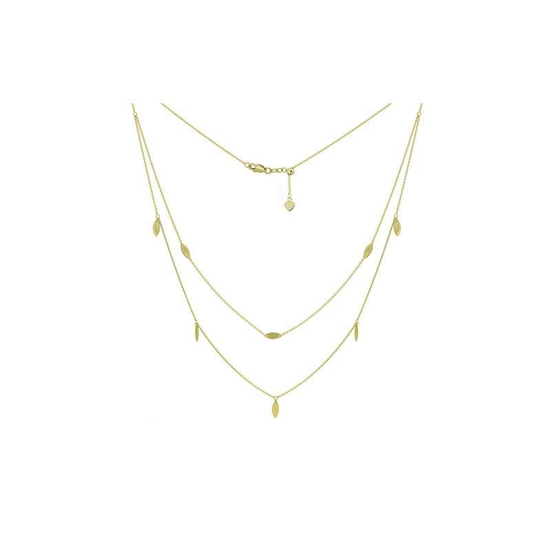 Spicer Greene Multi Strand Tassel Necklace
