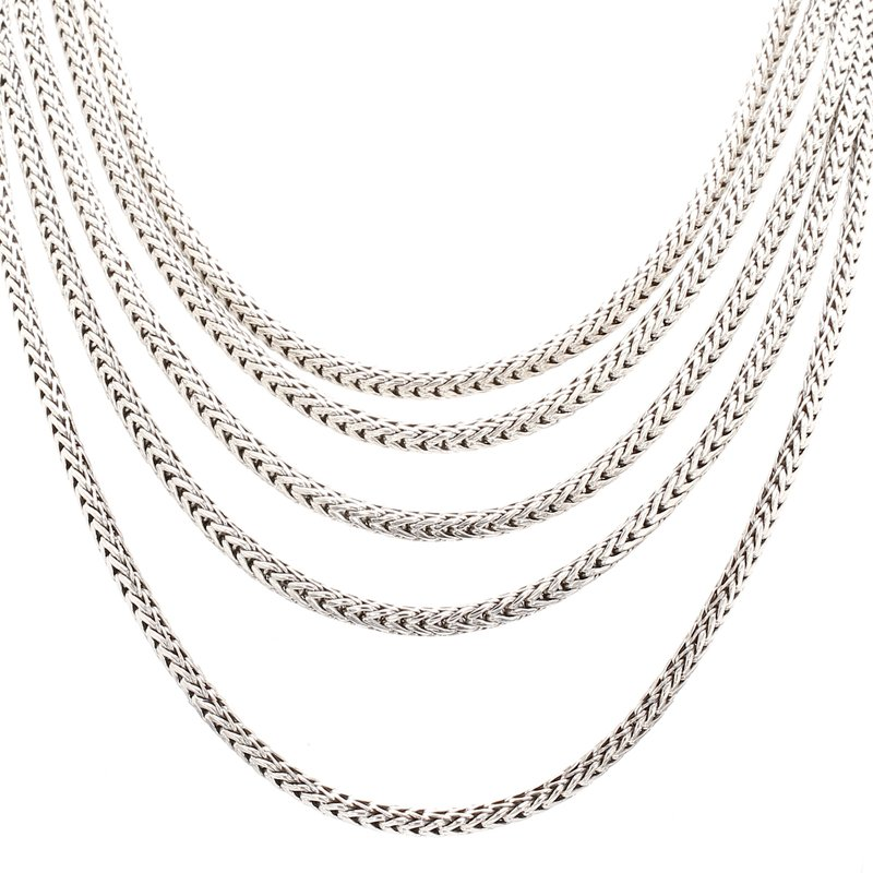 Multiple Strand Chain Necklace