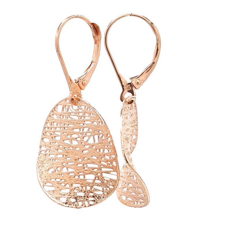 Spicer Greene Gold Dangle Earrings