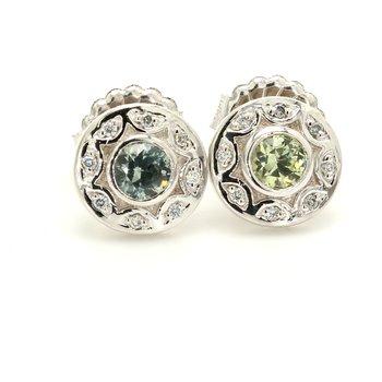 Sapphire Stud Earrings