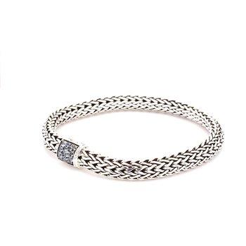Aquamarine Chain Bracelet
