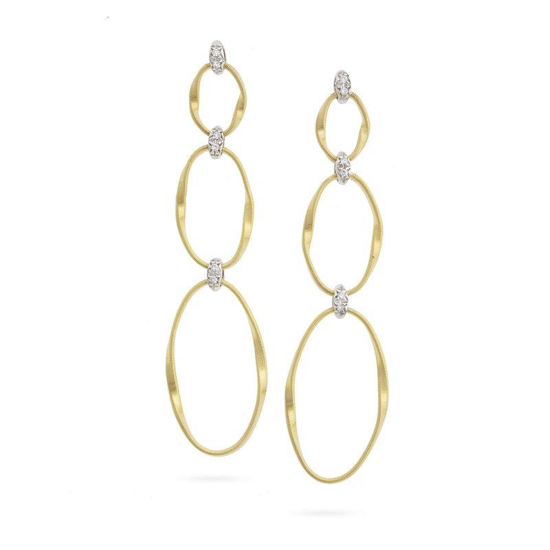 Marco Bicego Diamond Dangle Earrings