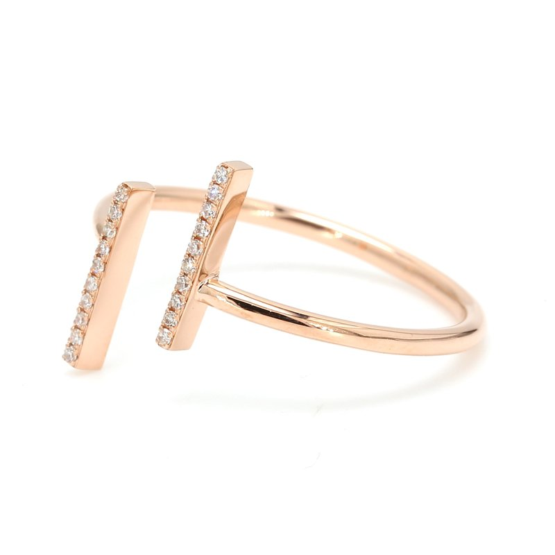 Spicer Greene Diamond Bypass Ring