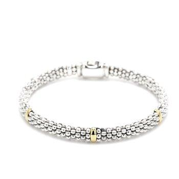 Silver Caviar Bracelet