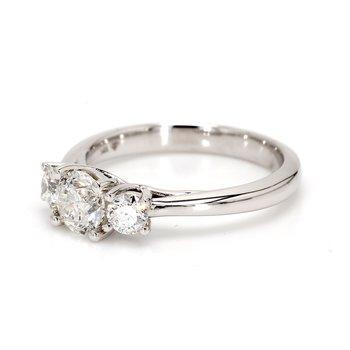 3 Stone Engagement Ring