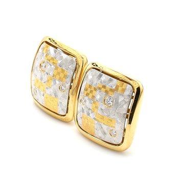 Diamond Clip On Earrings