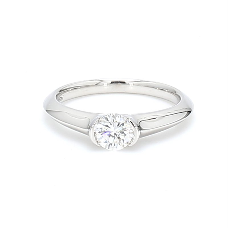 Spicer Greene Contemporary Solitaire Engagement Ring