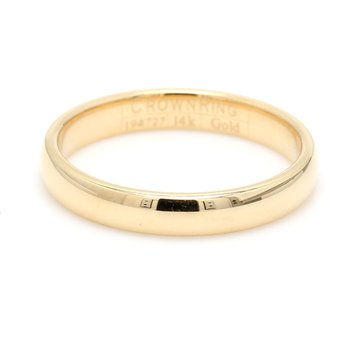 3mm 14 Karat Gold Wedding Band