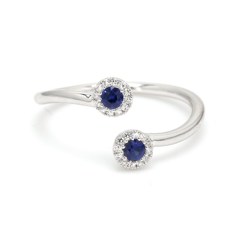 Color by Spicer Greene Sapphire Bypass Ring