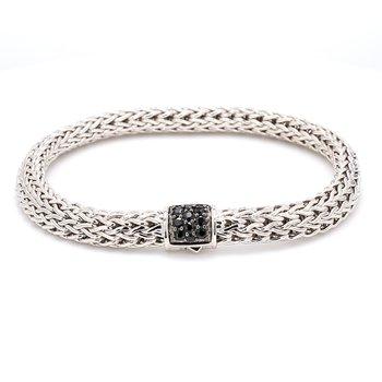 Silver Lava Bracelet