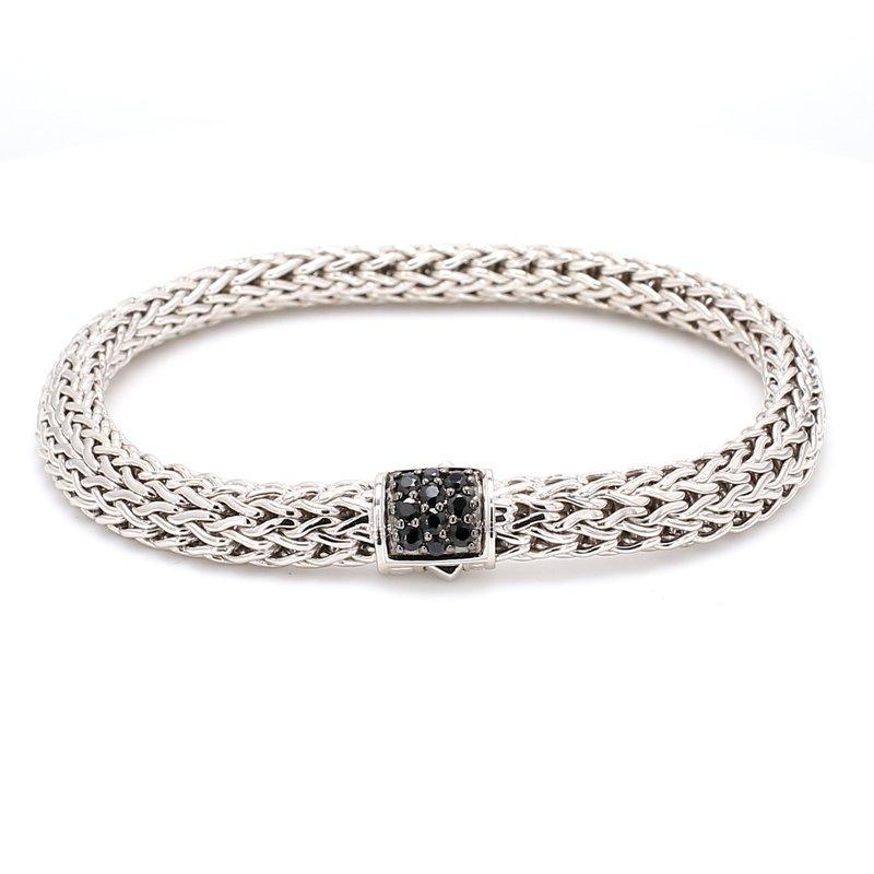 John Hardy Silver Lava Bracelet