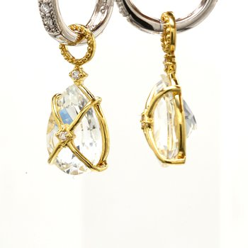 Topaz Ear Charms