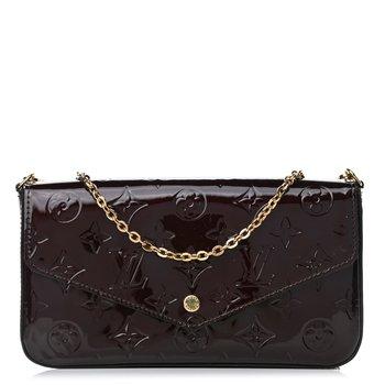 Louis Vuitton Vernis Pochette Felicie Chain Wallet