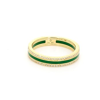 One Diamond Right Hand Ring Cr