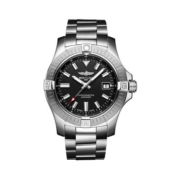 Automatic Avenger Black Dial 43mm