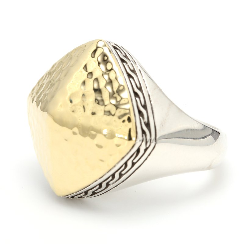 John Hardy Hammered Dome Ring