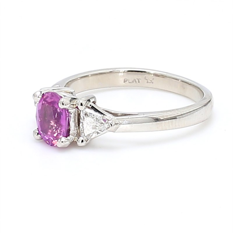 Color by Spicer Greene 3 Stone Sapphire Ring