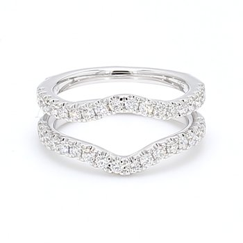 Jacket Diamond Wedding Band