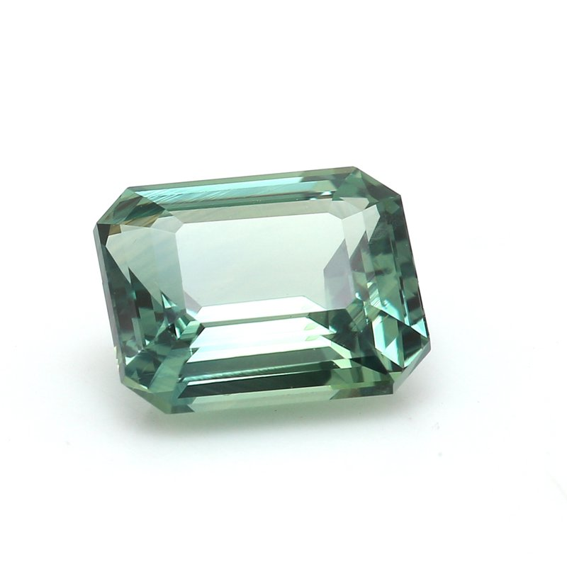 Color by Spicer Greene One Emerald Cut Sapphire Corun