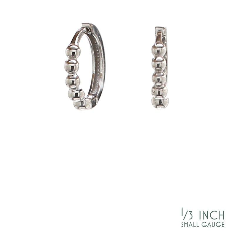 Spicer Greene Beaded Huggie Earrings