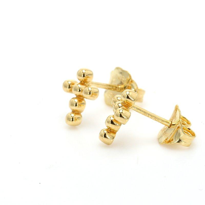 Spicer Greene Cross Earrings
