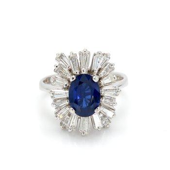 Sapphire Ballerina Ring