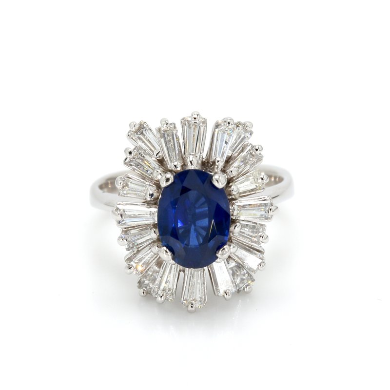 Estate Sapphire Ballerina Ring