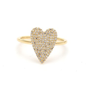 One Diamond Right Hand Ring Cr