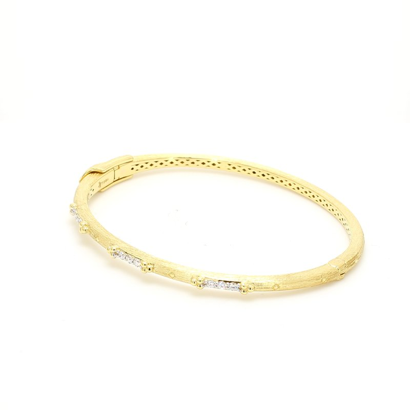Jude Frances Diamond Bangle Bracelet