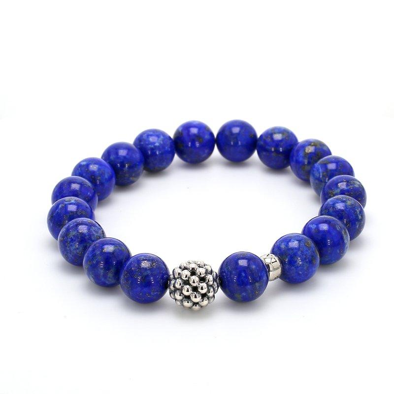Lagos Lapis Lazuli Beaded Bracelet