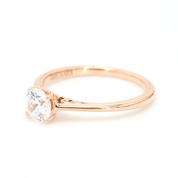 14 Karat Gold Engagement Ring Mounting