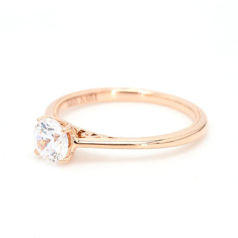 Kirk Kara 14 Karat Gold Engagement Ring Mounting