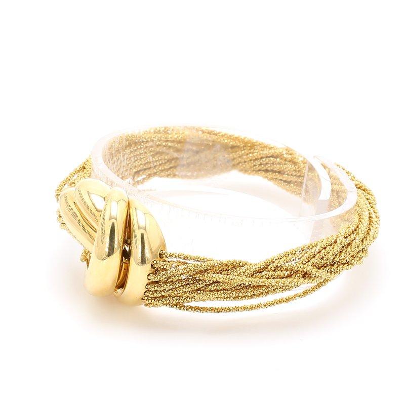 Estate Gold Weave Bracelet