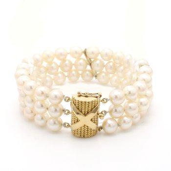Akoya Cultured Pearl Bracelet